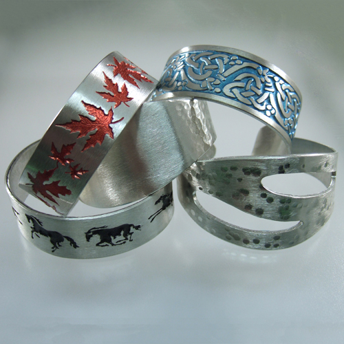 Lead-free Pewter Bracelet or Cuff